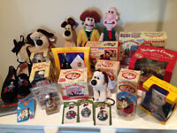 Wallace and Gromit memorabilia