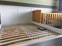 European double bed Ikea