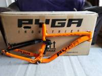 Pyga One Twenty 650 Trail MTB Frame & Shock