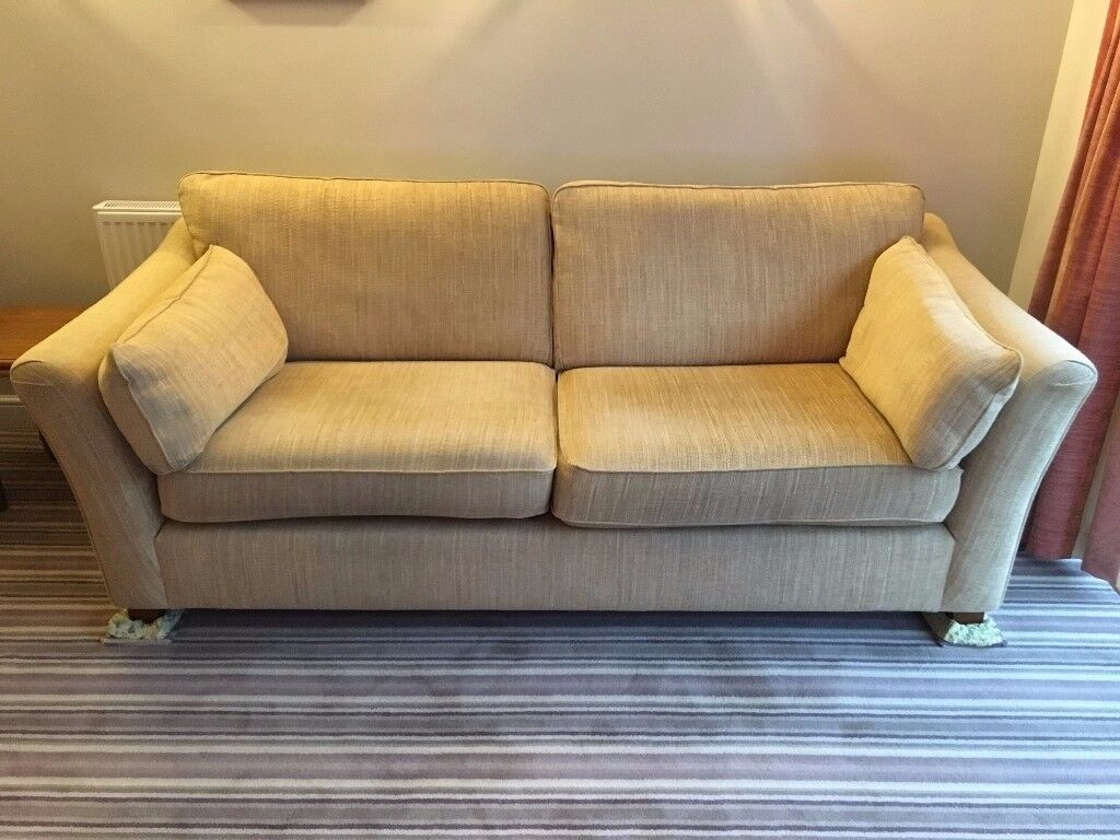 Large M&S two seater sofa and armchair.