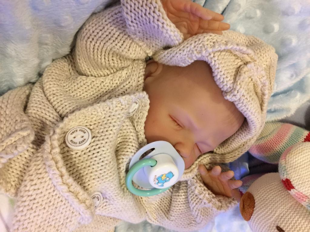 Beautiful realistic reborn baby boy. Brand new!