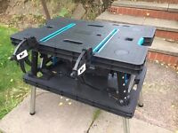 MAC ALLISTER FOLDABLE QUICK GRIP CLAMP WORKBENCH ---BRAND NEW---