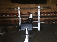 Commercial large dumbbell rack for sale