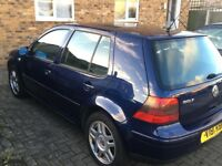 V5 Golf 2324cc spares or repair