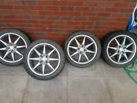 17inch Multi Spoke Alloy Wheels (With Tyres)