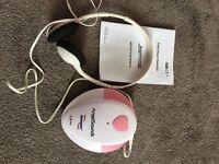 Fetal baby heart detector dopler