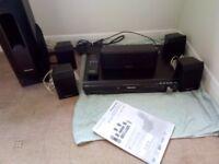 Panasonic DVD Player With 5.1 Surround Sound System