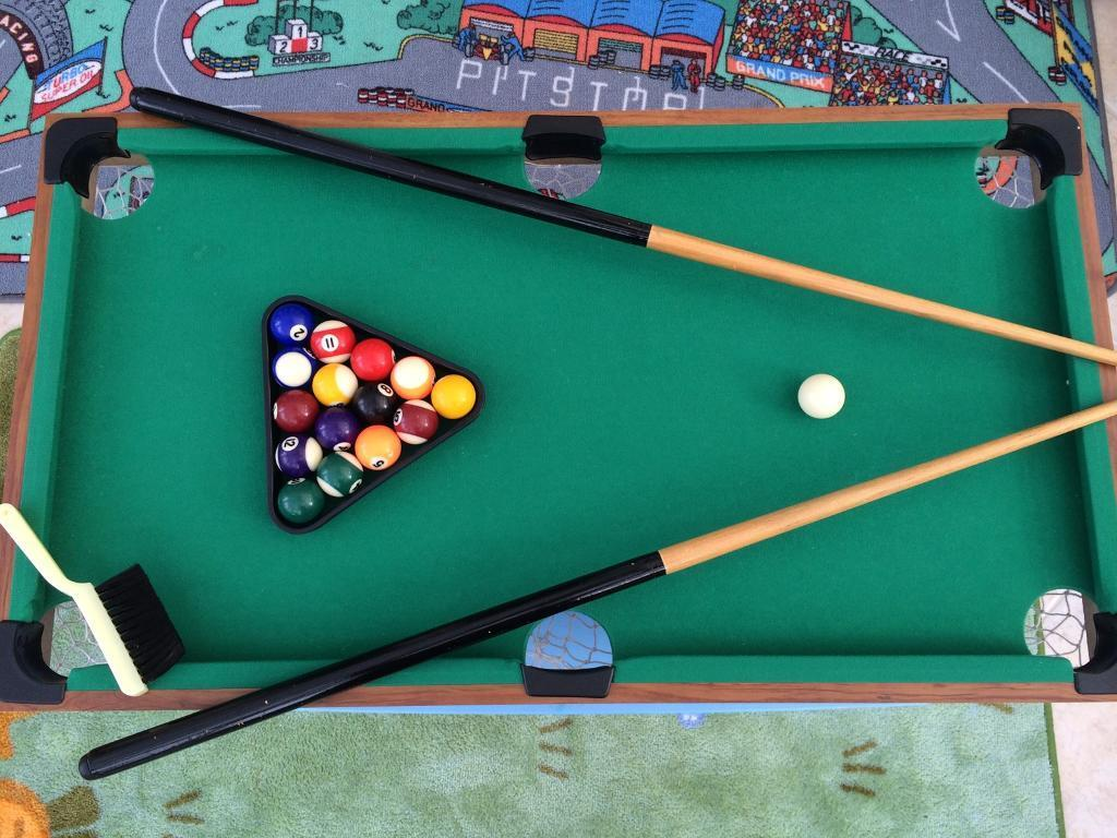 Pool Table Mini Kids Size In Solihull West Midlands Gumtree - Mini pool table size