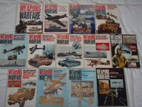 Weapons & Warfare Magazine; 13 issues from 1975/76 - £5 the lot or 50p each