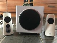 Logitech Z523 - speaker sets (196 x 132 x 86 mm, 254 x 229 x 132 mm, PC, AC)
