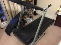 Treadmill and ABS bench £50