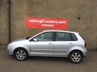2008 VW POLO MATCH, 1 YEAR MOT, FULL SERVICE HISTORY , WARRANTY NOT CORSA CLIO 207 PUNTO MICRA AYGO