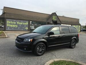 2017 Dodge Grand Caravan GT / LEATHER / PWR SLIDING DOORS & REAR