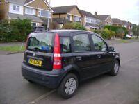 Fiat panda 'active' 1100cc 5door black 55 reg long mot