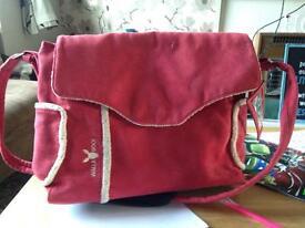 Red wallaboo change bag