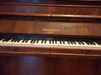 For sale piano lovely piano one of the covers on the key is missing