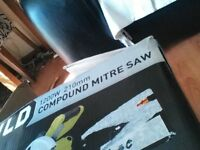 Brand New Compound Mitre Saw