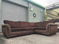 Beautiful dfs fabric corner sofa delivery 🚚 sofa suite couch furniture