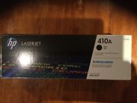 Genuine HP 410 A Laserjet Printer Ink - Black