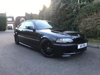 """BMW 325 M SPORT AUTO FULL BLACK LEATHER - 19"""" GLOSS BLACK ALLOY WHEELS - LOWERED ON COILOVERS"""