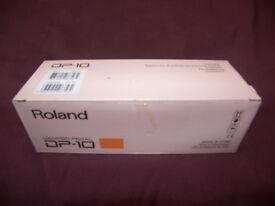 Roland DP-10 Damper Sustain Pedal. / Brand New !