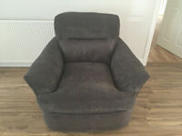 Alden Swival Chair (Grey)
