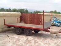 Twin wheeled trailer 10ft by 6ft