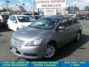 2013 Nissan Sentra SV Sunroof/Alloys/Htd Seats &GPS*$39/wkly