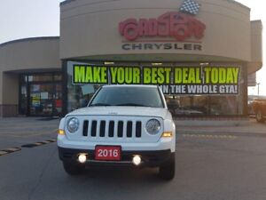 2016 Jeep Patriot High Altitude LEATHER P-ROOF 4X4 HEATED SEATS