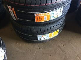 Pair of Brand New Tyres 245/45R18