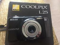 Nikon Coolpix L25 Camera and case