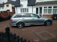 Mercedes Benz AMG c class sports estate auto swap part ex