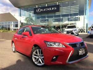 2015 Lexus CT 200h Premium Pkg Backup Cam Bluetooth Sunroof