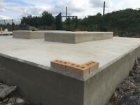 Shuttering ,steel fixing ,concrete finishing ,concrete