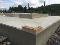 Shuttering ,steel fixing ,concrete finishing ,concrete