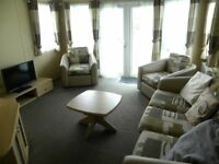 Cheap, Used 6 Berth Static Caravan For Sale, Near Tenby, Site Fees Paid til 2019