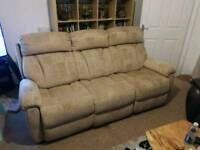 New 4 seater recliner sofa