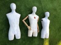 Mannequin x3 - Male Mannequin Torso