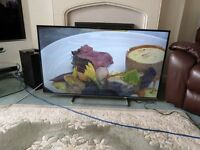 "50"" PANASONIC VIERA TV WITH FREEVIEW + STAND"