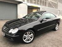 2006 MERCEDES CLK 350 AVANTAGARDE, SEMI-AUTO, FULL YEAR MOT, FSH...