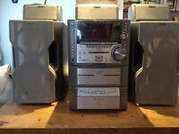 Sony MutliCD Tape Radio Surround Sound
