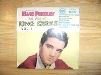 ELVIS PRESLEY HAND SIGNED KING CREOLE EP - ORIGINAL RCA 1957 RELEASE - MEGA RARE