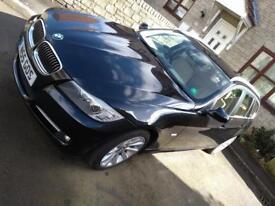 BMW 3.18 D Black Estate