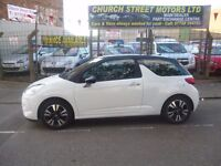 Stunning Citroen C3 DS3 Dsign,3 door hatchback,2 previous owners,2 keys,runs and drives very well,
