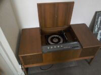 His Masters Voice Radiogram ( working )