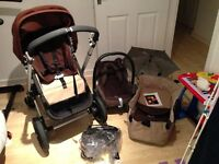 Bugaboo Chameleon Pram and accessories
