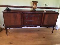 Free mahogany sideboard