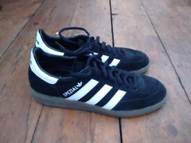 trainers sneakers shoes ADIDAS SPEZIAL black *UK 6 1/2 *EU 39 1/3 male *like new*