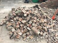 Rubble, old half bricks FREE