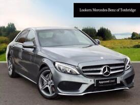 Mercedes-Benz C Class C200 D AMG LINE PREMIUM (grey) 2017-03-07